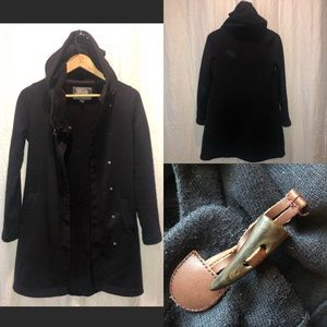 COPY - Roots hooded jacket (3/4 length)
